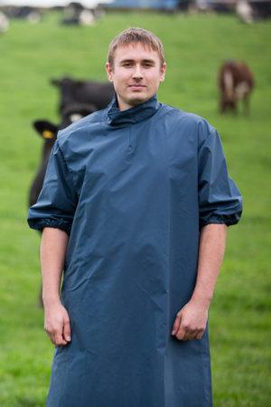 Neoprene Parturition Gown Short Sleeve 4oz Heavyweight M03